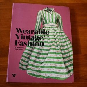 Other - Wearable Vintage Fashion Book